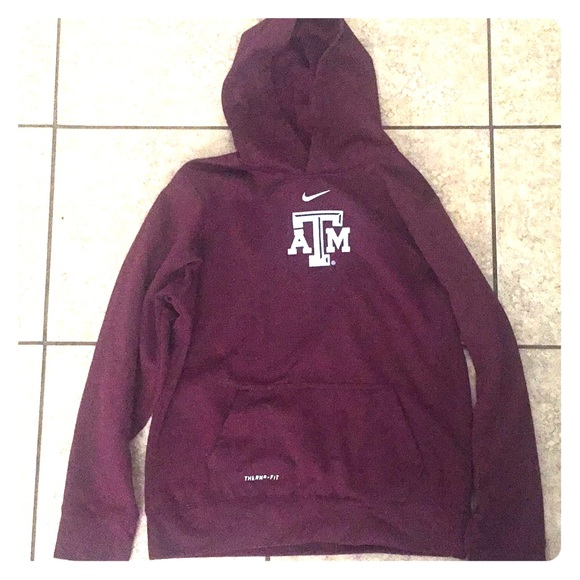 84d241e5 Texas A&M Nike Hoodie (Maroon colored; Therma-Fit)
